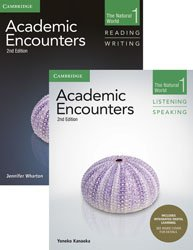 Academic Encounters Level 1 - 2-Book Set : R&W Student's Book with WSI, L&S Student's Book with Integrated Digital Learning