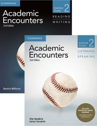 Academic Encounters Level 2 - 2-Book Set : R&W Student's Book with WSI, L&S Student's Book with Integrated Digital Learning