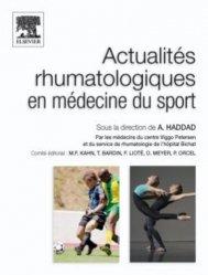 Actualités rhumatologiques en médecine du sport