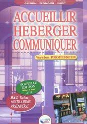 Accueillir Héberger Communiquer - première - PROF