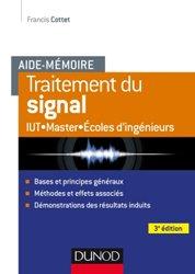 Aide-mémoire - Traitement du signal