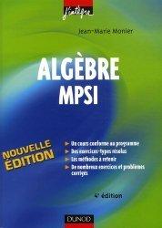Algèbre MPSI