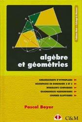 Algèbre et géométries