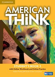 American Think Level 3 - Student's Book with Online Workbook and Online Practice