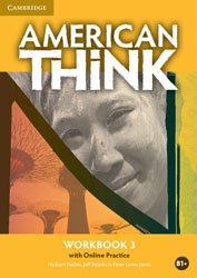 American Think Level 3 - Workbook with Online Practice
