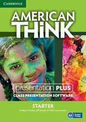 American Think Starter - Presentation Plus DVD-ROM
