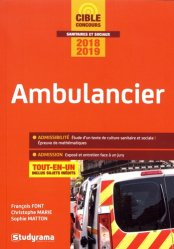 Ambulancier 2018-2019
