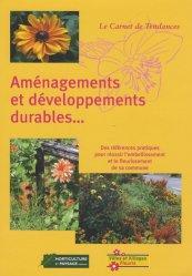 Aménagements et développement durables
