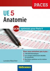 Anatomie UE 5 - QCM optimisés pour Paris V
