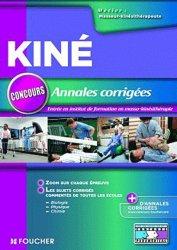 Annales corrigées concours Kiné