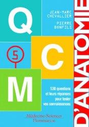 Anatomie 5  - QCM