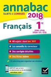 ANNALES ANNABAC 2018 1RE STMG