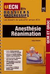 Anesthesie réanimation