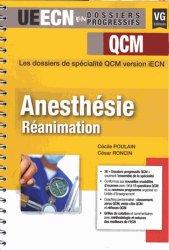 Anesthésie réanimation