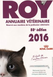 Annuaire vétérinaire ROY 2016