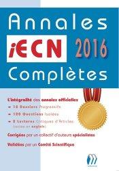 Annales iECN 2016 complètes