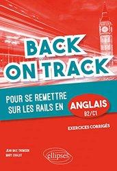Back on Track pour se remettre