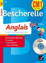 Bescherelle Anglais CM1 avec un CD Audio