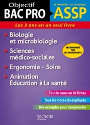 Biologie et microbiologie - Sciences médico-sociales - Ergonomie-Soins - Aniamtion-Education à la santé