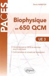 Biophysique en 650 QCM