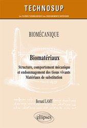 Biomécanique, biomatériaux