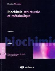 Biochimie structurale et métabolique