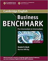 Business Benchmark Pre-intermediate to Intermediate Business Preliminary - Student's Book