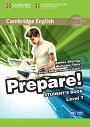 Cambridge English Prepare! Level 7 - Student's Book