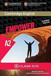 Cambridge English Empower, Elementary - Class DVD