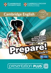 Cambridge English Prepare! Level 2 - Presentation Plus DVD-ROM