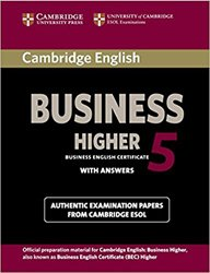 Cambridge English Business 5 Higher - Student's Book with Answers
