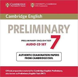 Cambridge English Preliminary 7 - Audio CDs (2)