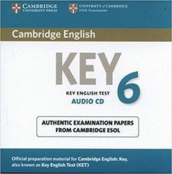 Cambridge English Key 6 - Audio CD