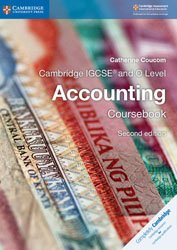 Cambridge IGCSE and O Level Accounting Coursebook