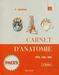 Carnet d'anatomie 2