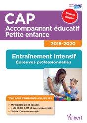 CAP Accompagnant éducatif Petite enfance 2019-2020