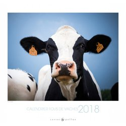 Calendrier Fous de vaches 2018