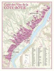 Carte des Vins de Côte-Rôtie
