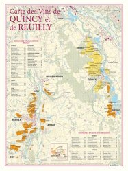 Carte des Vins de Quincy et de Reuilly