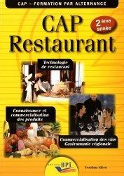 CAP Restaurant 2ème année - Version élève