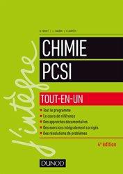 Chimie tout-en-un PCSI