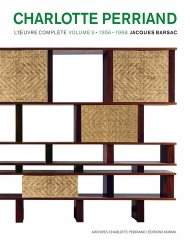 Charlotte perriand : volume 3