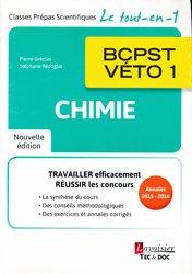 Chimie BCPST - VÉTO 1