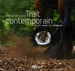Cheval de travail Trait contemporain
