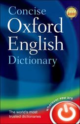 Concise Oxford English Dictionary 12th Ed.