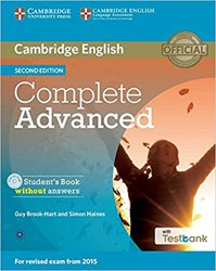 Complete Advanced - Student's Book without Answers with CD-ROM with Testbank