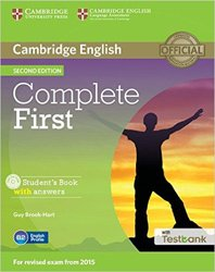 Complete First - Student's Book with Answers with CD-ROM with Testbank