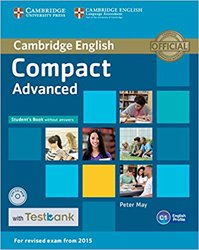Compact Advanced - Student's Book without Answers with CD-ROM with Testbank