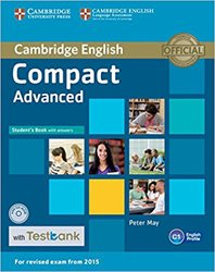 Compact Advanced - Student's Book with Answers with CD-ROM with Testbank