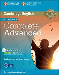 Complete Advanced - Student's Book without Answers with CD-ROM